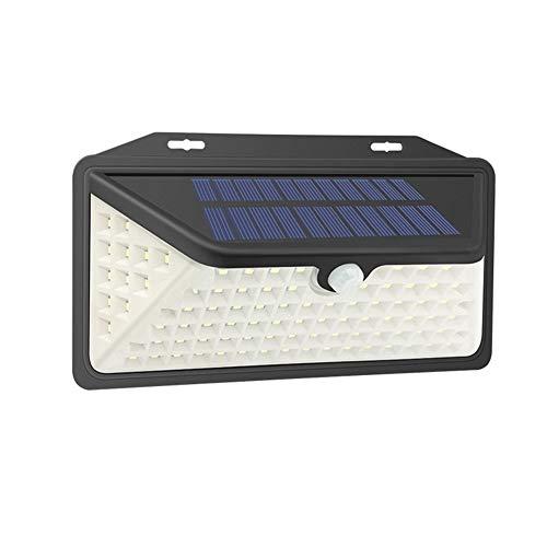 EIGHTT Außen Solarlampe 102 Led Solarleuchten Outdoor Sport Sensor Sicherheitsleuchten mit 3 Beleuchtung Modi Solarbeleuchtung für Gartenhaus Balkon Terrasse Beleuchtung
