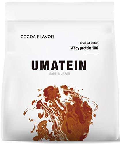 【ウマい プロテイン】 ウマテイン プロテイン ホエイプロテイン ココア味 1kg 国産 グラスフェッド 11種類のビタミン配合
