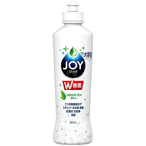 除菌ジョイ コンパクト 食器用洗剤 緑茶の香り 大容量ボトル 300mL