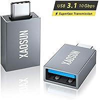 2-Pack Xaosun Thunderbolt 3 to USB 3.0 Adapter