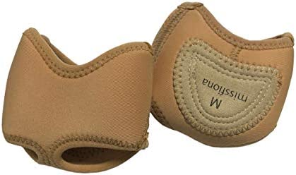 Women s Neoprene Half Sole Dance Paws Forefoot Pad Half Lyrical Shoes L Nude product image