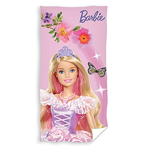 telo mare barbie Asciugamano | 70 x 140 cm | Barbie | Bambini Telo Mare Bagno Spiaggia