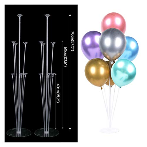 Fangzwl Balloon Column Stand Balloons Arch Frame Stand Baby Shower Kids Birthday Party Decorations Balloon Bow Stand Holder Baloon Ballon Accessories Decor (Color : Yellow 0)