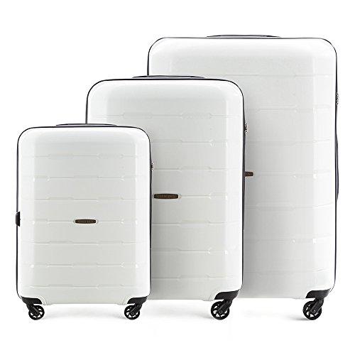 WITTCHEN Equipaje   Color: Blanco   Material: Polipropileno   Dimensiones: 78 x 55 x 31 cm   Peso: 10.3 kg 101 L   Colección: Speedster   56-3T-72S-88