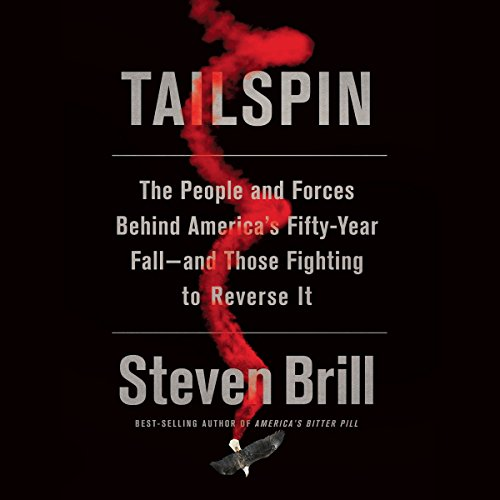 Tailspin audiobook cover art