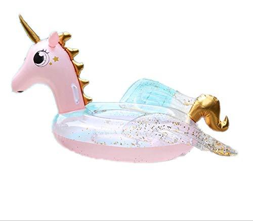 Svvsgf Luftbetten Wasserbett Poolsfloating Drainage Upstream Musik Schwimmbett Mit Flügeln Pegasus Aufblasbare Schwimmende Reihe