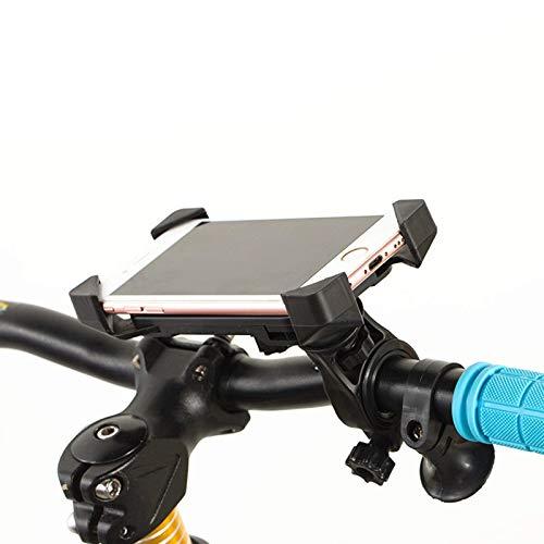 ZHTY 360deg; Rotatable Bike Handlebar Phone Holder,Detachable Motorcycle Phone Mount,Automatic Telescopic Bracket,Suitable for 95% of Mobile Phones on The Market SONG
