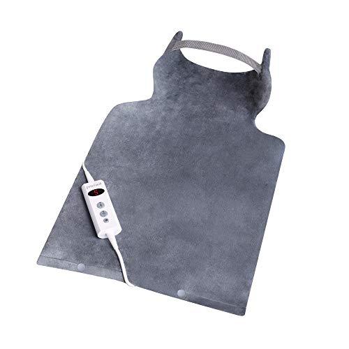 Promed Rücken - und Nackenheizkissen Nrp - 2.4, Heizkissen für Rücken, Nacken, Schulter, Wärmekissen mit Abschaltautomatik waschbar, 10 Temperaturstufen, Überhitzungsschutz