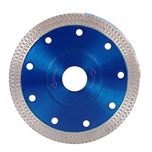 CPH20 Herramienta de sierra Disco de porcelana Baldosas de cerámica de granito de corte de mármol para amoladora angular de diamante (tamaño : 105 mm)