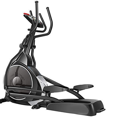 YAMMY Startseite Elliptical Cross-Trainer, 32 Trainingsprogramme Cardio Home Office Fitness Workout-Maschine Geeignet Für Alle Altersgruppen Max Benutzergewicht 150 Kg