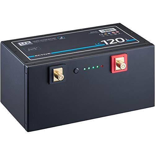 ECTIVE LC120L 12V 120Ah 1536Wh LiFePo4 Untersitz-Batterie Lithium-Eisenphosphat Versorgungs-Batterie