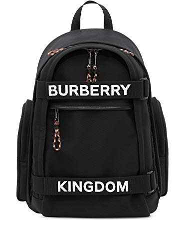 Luxury Fashion | Burberry Heren 8023569 Zwart Polyester Rugzak | Lente-zomer 20