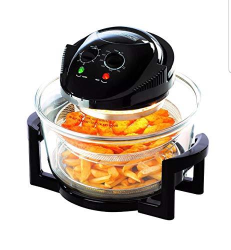 Oven 17 Litres Daewoo Halogen Healthy Glass Air Fryer Deep Fat.
