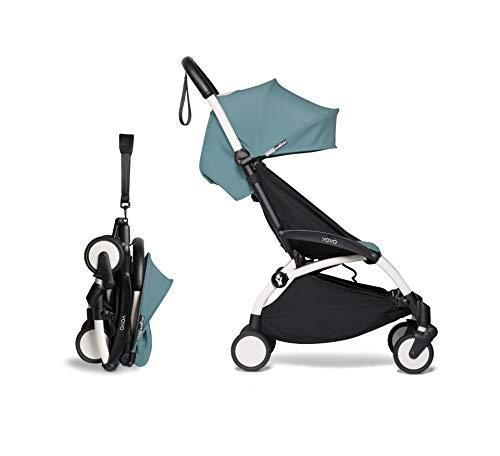 Babyzen YOYO² Buggy 6+ - Silla de paseo (estructura aqua), color blanco ⭐