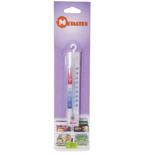 Metaltex 298042 Thérmometre de congelateur, Plastique, Multicolore, 28 cm