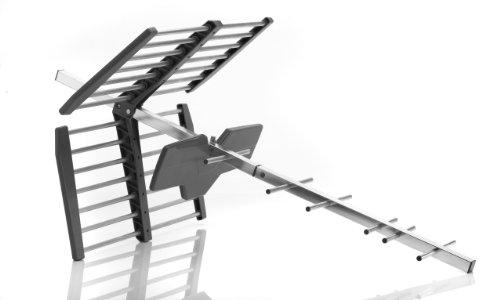 OneForAll - SV9453 - Antenne extérieure amplifiée - Réception TNT - Compatible FullHD - Installation aisée