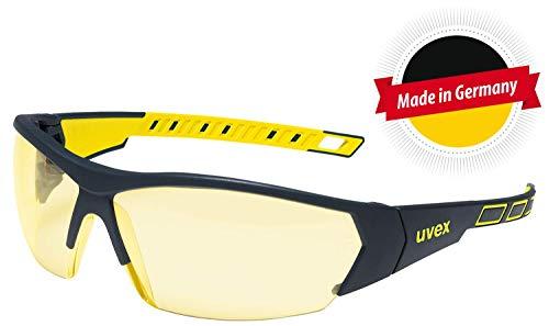 Uvex I-Works Supravision Excellence RT Schutzbrille - Amber/Schwarz-Gelb