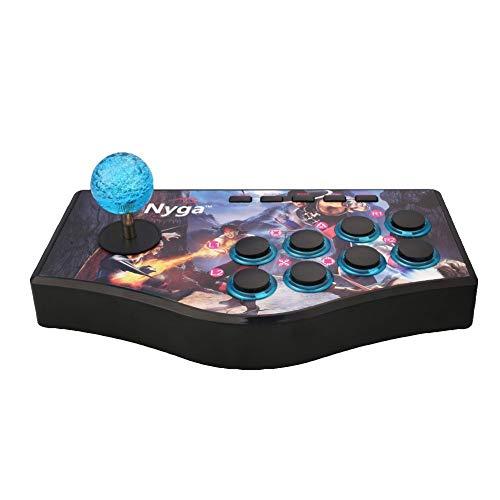 L&WB Bedrade USB Fighting Stick Arcade Joystick Gamepad Controller voor PS3 voor PC voor Android Telefoons voor Smart TV