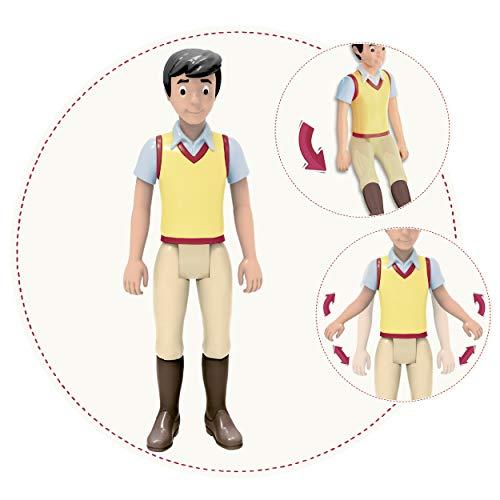 CRAZE BIBI & TINA Standing Alexander Figur zum Sammeln und Spielen Spielfigur beweglich mit Sitzfunktion 25796