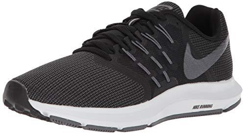 Nike Damen WMNS Run Swift Laufschuhe, Schwarz (Black/MTLC Hematite/Dark Grey/ 010), 38.5 EU