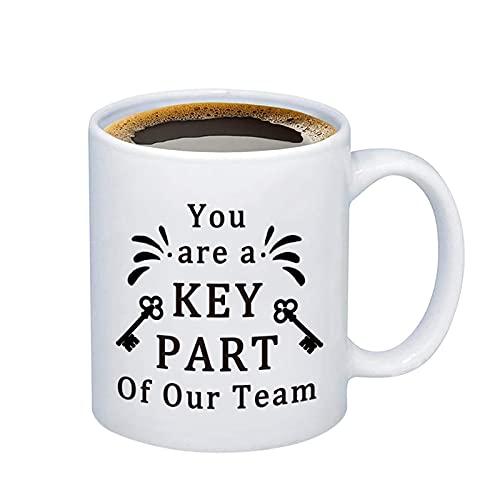 HOLLP Employee Appreciation Gift Team Coffee Mug Key Worker Gift for Colleague Nurse Coach Doctor Teacher (Coffee Mug)