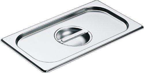 Miele Deckel für alle Dampfgarbehälter / 325x176 mm /edelstahl