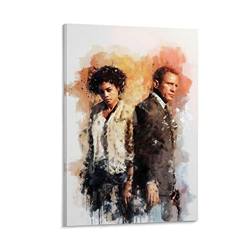 NUOMANAN 007 James Bond Pays Tribute to Classics Prints Canvas Art 12x18inch(30x45cm) Painting Home Decor Wall for Home Decorations Wall Decor Unframed/Frameable