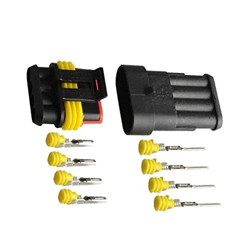Vkospy 5 PC/Conector de Cable Conector de Cable sellada Coche eléctrico Regletas...