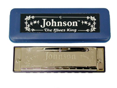 Johnson BK-520-B Blues King Harmonica, B