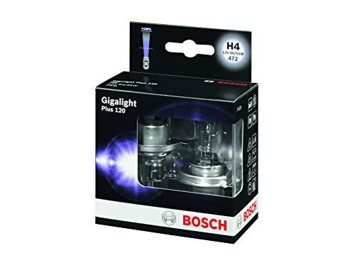BOSCH 1987301106 Gigalight Plus 120 Xenon Bulb H4 12 V 60 / 55 W P43T 2 Set