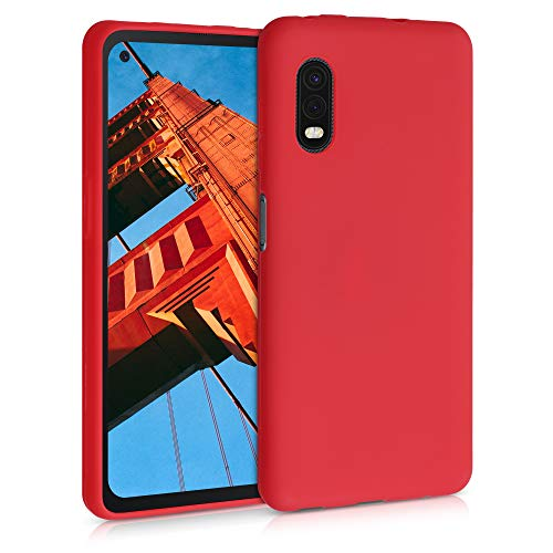 kwmobile Hülle kompatibel mit Samsung Galaxy Xcover Pro - Hülle Handyhülle - Handy Hülle in Rot matt