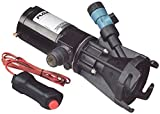 Flojet 18555-000A Portable RV Waste Pump with Garden Hose Discharge Port - 12 VDC Motor
