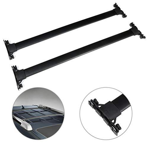 SCITOO fit for 2010-2019 Toyota 4Runner 4-Door Aluminum Alloy Roof Top Cross Bar Set Rock Rack Rail