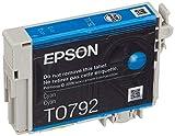 Epson C13T07924010 - Cartucho de tinta, cian válido para los modelos Stylus Photo, P50, PX650W, PX660W, PX700W, PX810FW, PX830FWD, 1400, 1500W y otros, Ya disponible en Amazon Dash Replenishment