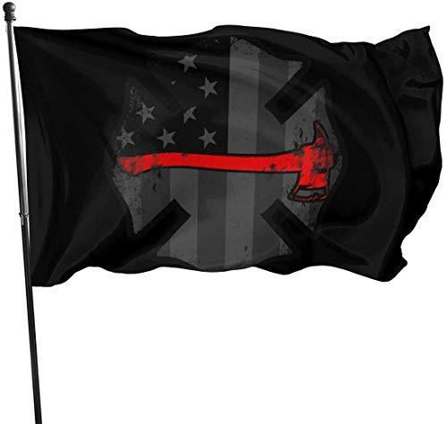 Simple Love Av Amerikanische Axt unterworfener Feuerwehrmann US-Flagge Flaggen im Freien Fahnen-Flaggen-Ausgangshaus-Flaggen