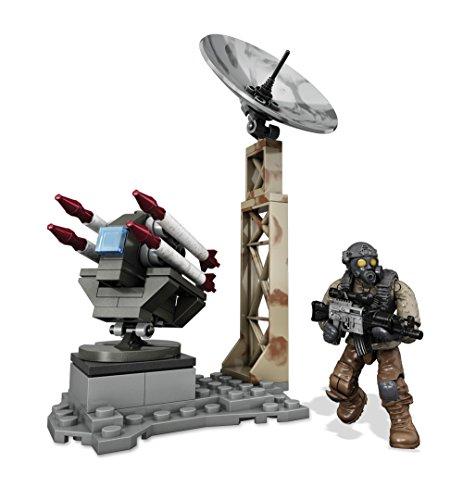 Mega Bloks Call of Duty - Juego de construcción, torreta Lanza Misiles (Mattel CNG74)