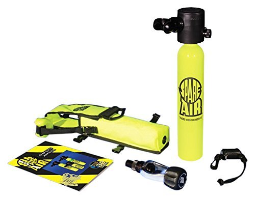Spare Air 1.7 and/or 3-0 Cu Ft Submersible Emergency Air Supply Package Set S.