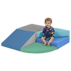 top 10 soft toddler climbers ECR4Kids – ELR-12669F-CT SoftZone Angle Climber Small Twist Form – Active Indoor Play…