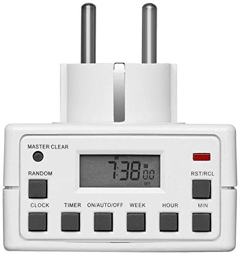 Smart Planet® hochwertige Digitale Zeitschaltuhr für z.B. Rollos, Aquarien, Lampen