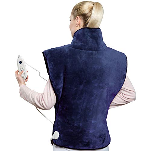 Hangsun Heat Pads for Back Pain Relief Electric Heating Pad Neck and...