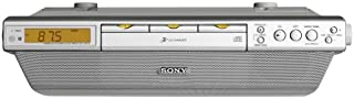 Sony ICF-CDK70 Under Cabinet Kitchen Clock Radio with CD-Changer (Discontinued by Manufacturer)