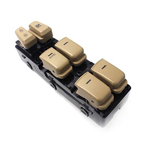 VXAOHONG 2 colori Auto Front Sinistra Finestra elettrica Switch Fit Fit per H Yundai Sonata 2011-2014 935703S000 935703S000RY (Color : Beige)