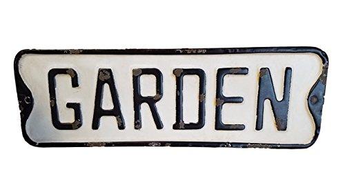 PD Home Vintage Street Sign (GARDEN)