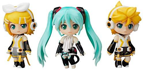 "Petit Miku Rin Len Append set lottery Good Smile Nendoroid ""Hatsune Miku 2012 Winter Ver."" C Awards (japan import)"