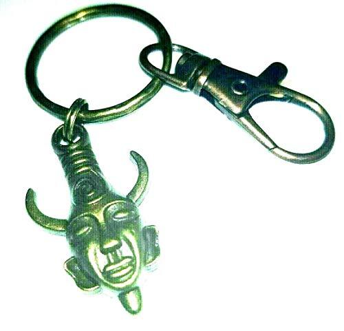 Supernatural Samulet Dean Winchesters Schlüsselanhänger Amulett Charm Halskette Anhänger Schlüsselanhänger Tasche Charm
