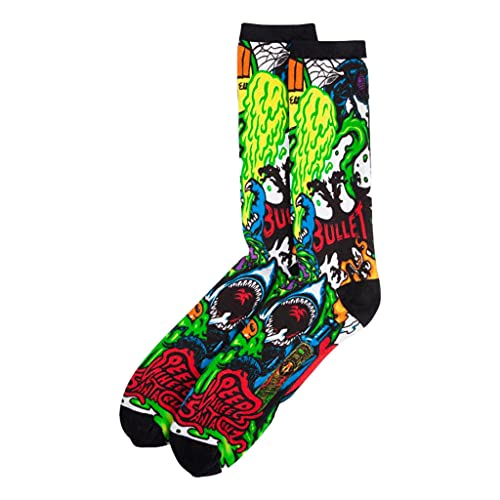 Santa Cruz SW Logo Mash Socken, mehrfarbig