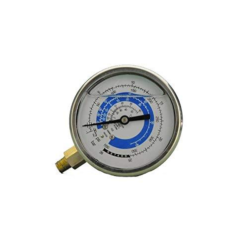 REPORSHOP - Manometro Baja Presion 80mm Glicerina Rosca 1/8