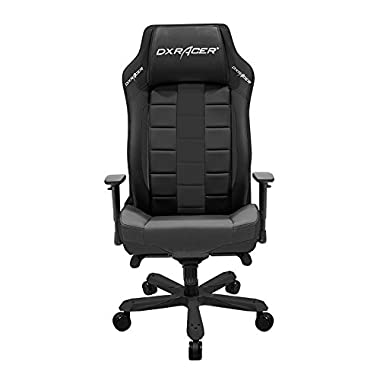 DXRacer Classic Series DOH/CE120/N Big and Tall Chair Racing Bucket Seat Office Chairs Comfortable Chair Ergonomic Computer Chair DX Racer Desk chair (Black)