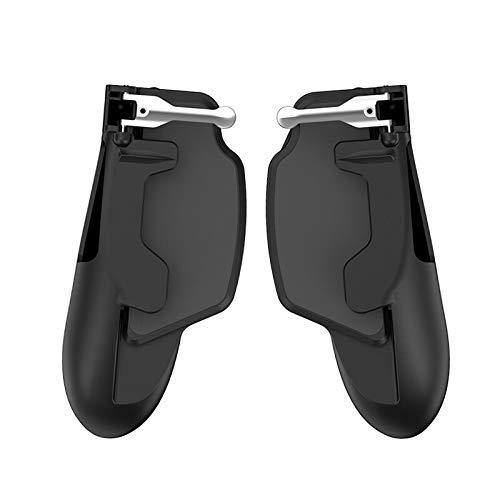 Haoyushangmao Controlador Mobie PUBG for el botón de iPad iPhone Samsung Juego Gamepad Tableta Disparo de gatillo Grip Objetivo Principal móvil del Juego de la manija Joystick (Color : Negro)