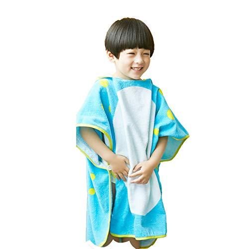 Tancurry - Toalla infantil con capucha (3-8 años), diseño de dinosaurios